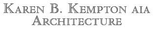 Karen B. Kempton Architecture